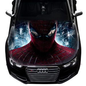 3д наклейка на капот Grandmaster3d Spiderman1 1200х1500х0.15мм