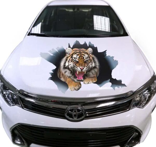 car-hood-decal-tiger-white