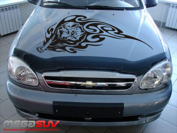 car-hood-sticker-wolf