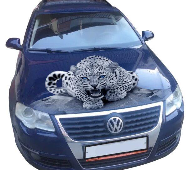 3d nakleika leopard B