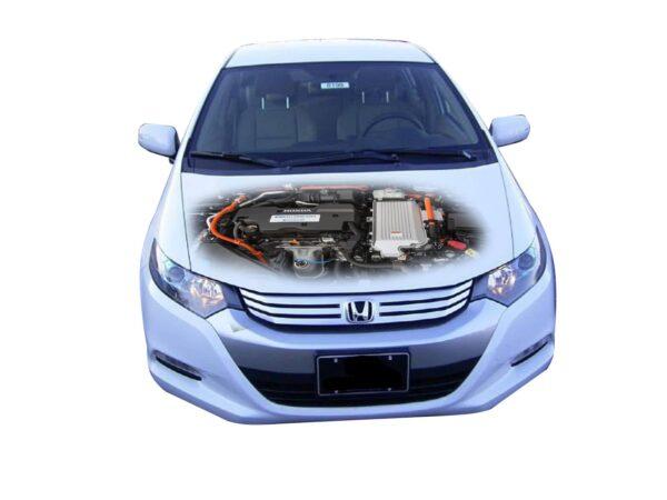 Наклейка двигатель Хонда Инсайт