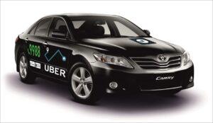 Наклейки на такси Убер 4