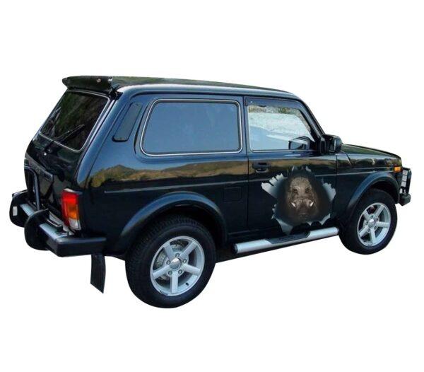 car sticker boar