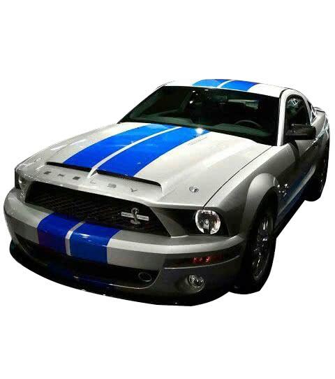 полосы на авто синие