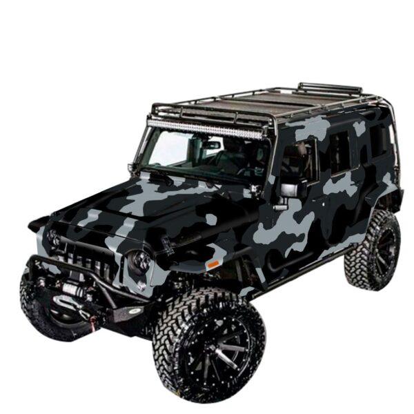 Kamuflyag-jeep