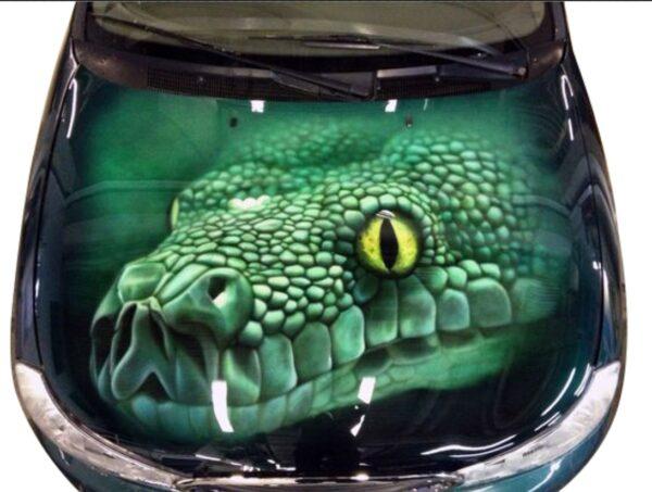 nakleika-na-kapot-krokodile-3d