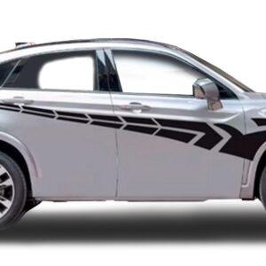 Полосы на авто 3D TUNING STUDIO Протектор Ч 1700х725х0.060мм