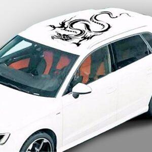Полосы на крышу авто Grandmaster3d Дракон КР  1150х890х0.075мм