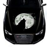Наклейка Луна Волк