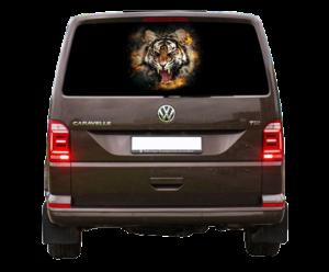 наклейка тигр 5