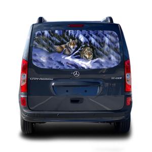 Наклейка на заднее стекло Grandmaster3d Winter Wolves 1480х700х0.18мм