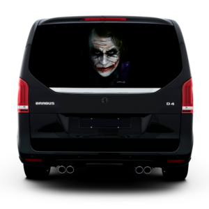 Наклейка на заднее стекло Grandmaster3d Joker 1498х800х0.18мм