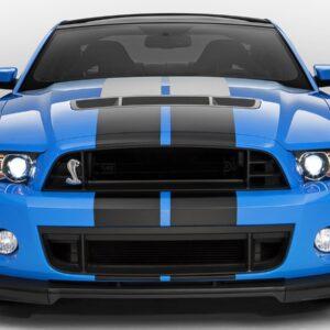 Полосы на авто Grandmaster3d Black Mat Mustang 4200х500х0.060мм