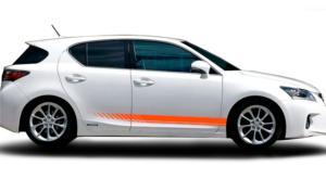 Полосы оранжевые Ч-33