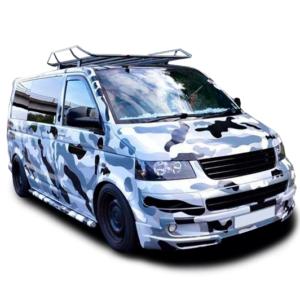 Городской камуфляж на микроавтобус 3D TUNING STUDIO Grey 7920x980x0.060мм