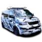 Городской камуфляж на микроавтобус Grandmaster3d Grey 7920x980x0.075мм