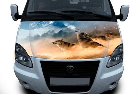 Nakleika-na-kapot-gazel-volki