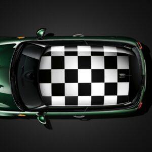 Наклейка на крышу мини купер Grandmaster3d Шахматы 1300х1850х0.14мм