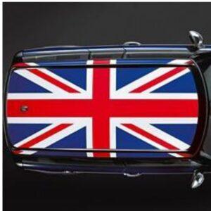 Наклейка на крышу мини купер Grandmaster3d Флаг Великобритании R 1300х1850х0.14мм