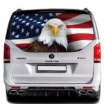 Наклейка флаг Америки