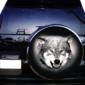 Наклейка на запаску Grandmaster3d Волк С 750х750х0.15мм