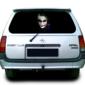 Наклейка на заднее стекло опель Grandmaster3d Джокер 1500х600мм