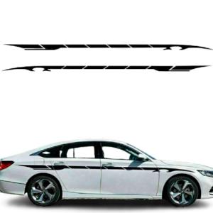 Полосы на двери авто Grandmaster3d виниловые 57 3500х160х0.060мм