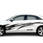 Полосы на двери и крылья авто Grandmaster3d Dream R 3020х980х0.15мм