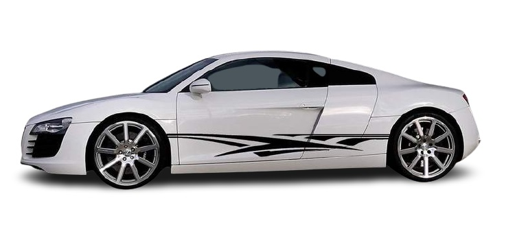 Полосы Audi R8