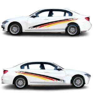 Полосы на двери авто 3D TUNING STUDIO Трио 2400х600х0.15мм