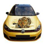 Наклейка леопард гольф