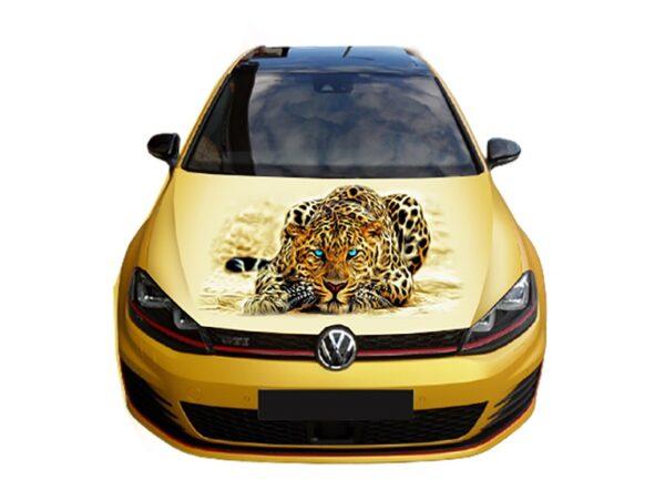 Nakleika-na-kapot-leopard-golf