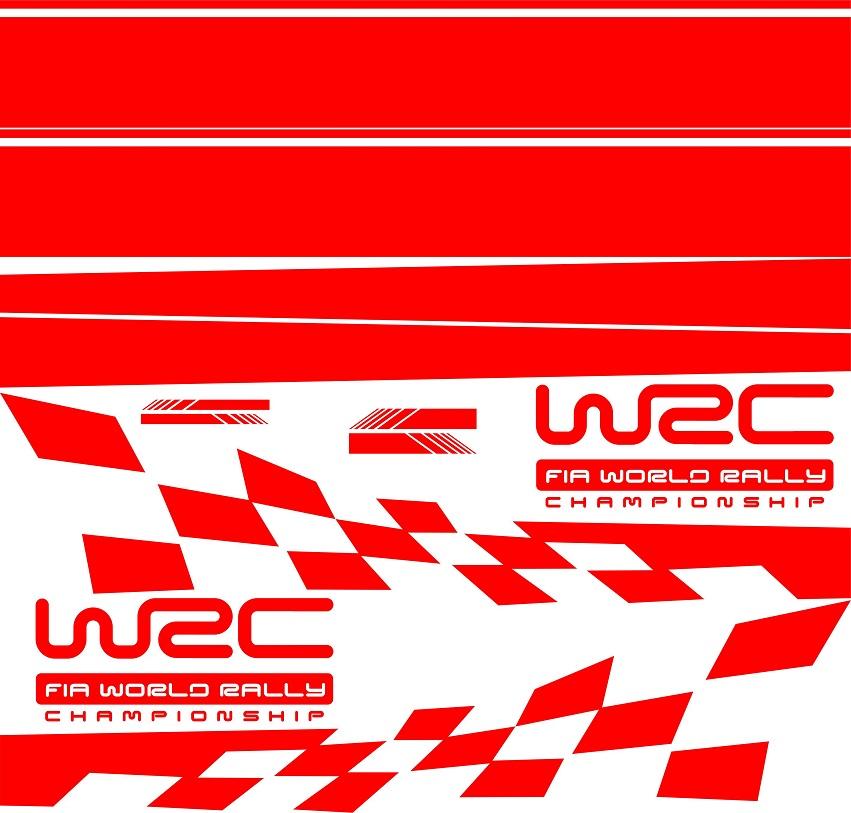 Полосы авто WRC